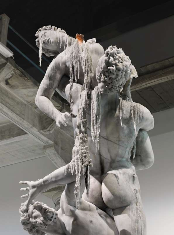 Melting Statue Replicas