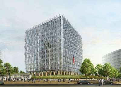 Glass Cube Eco Embassies