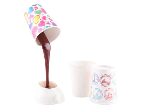 Chocolate-Pouring Lamps