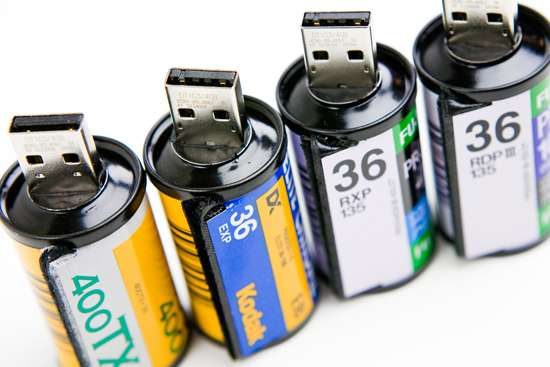 Film Roll Flash Drives