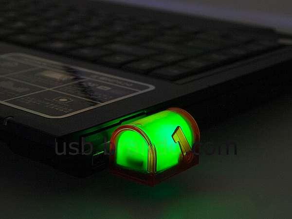 Illuminated USB Mailboxes