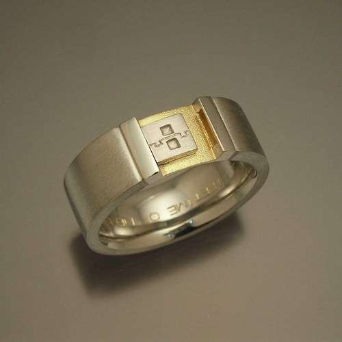 Thumb Drive Wedding Bands