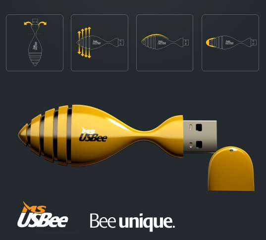 Innovative Flexible USB