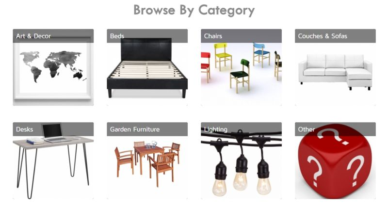 Expedited Furniture Marketplaces