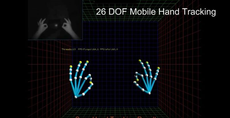 Hand-Tracking VR Software