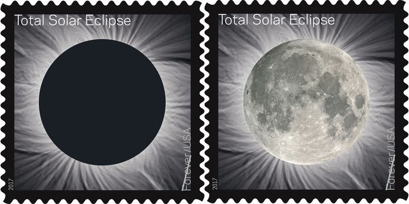 Interactive Eclipse Stamps