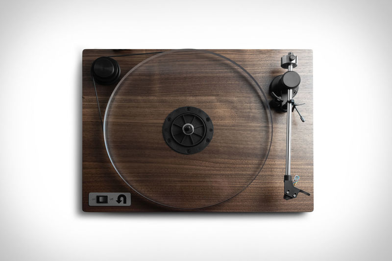 Sustainable Wooden Record Players