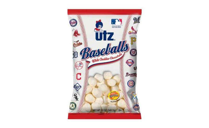 Branded Baseball Snacks