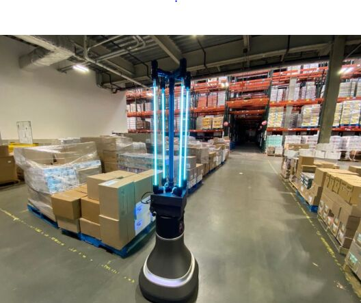 Autonomous UVC Light Robots
