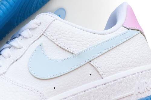 UV-Reactive Logo Sneakers