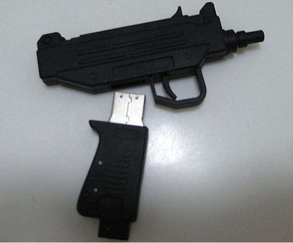 Trigger-Happy Thumb Drives