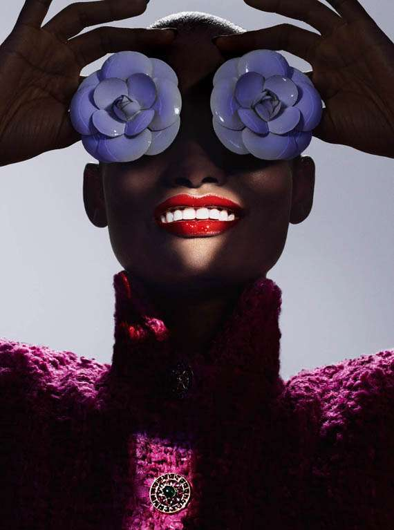 Flower-Embedded Editorials