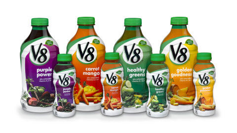 Colorful Vegetable Juice Branding