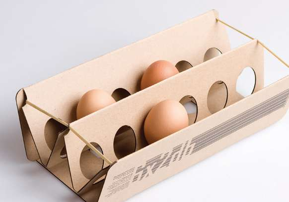 Cardboard Egg Packaging