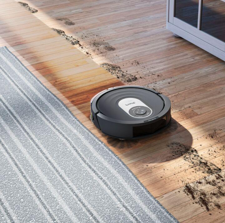 Wifi-Controlled AI Robot Vacuums
