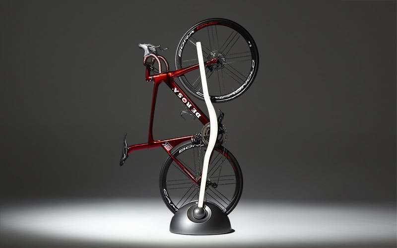 Room-Illuminating Bike Racks