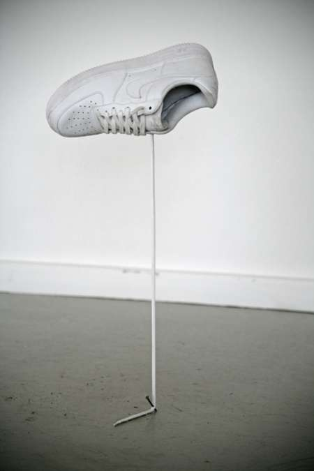 Shoelace Sculptures