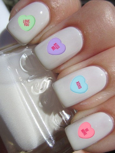 Love-Inspired Nail Decals