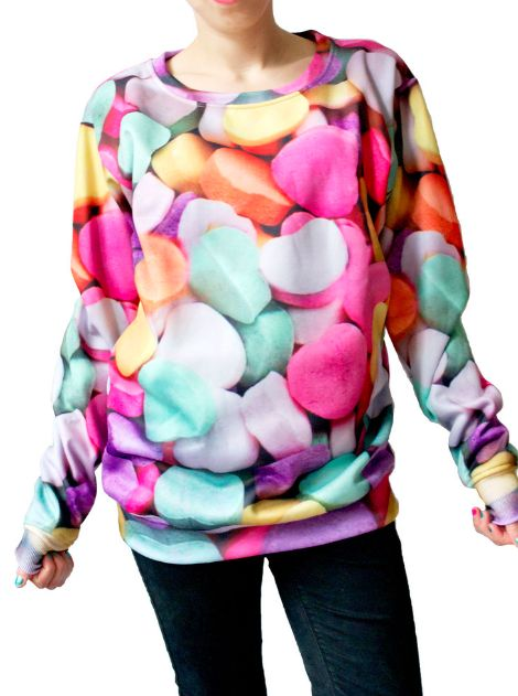 Chromatic Candy-Coated Pullovers
