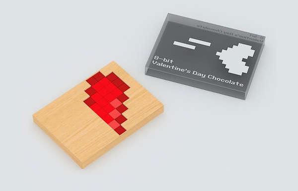 Pixelated Chocolates