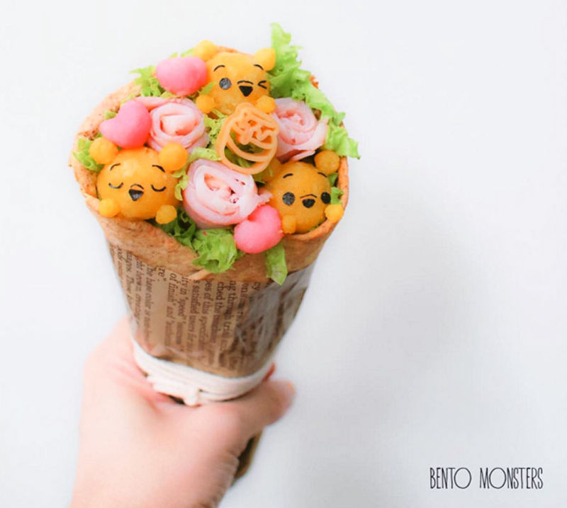 Edible Character Bouquets