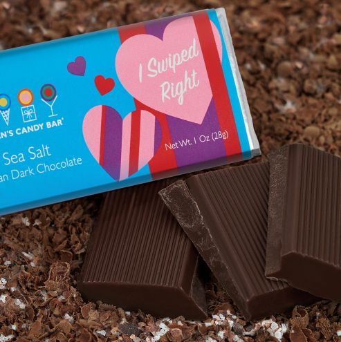 Dating App-Inspired Chocolates