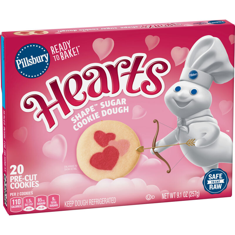 Limited-Edition Heart-Shaped Cookies