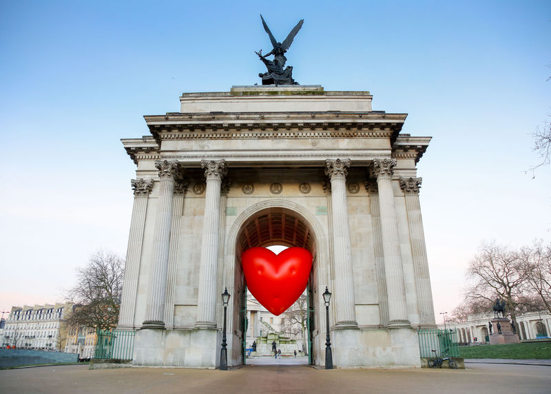 Heart-Shaped Valentine's Day Installations