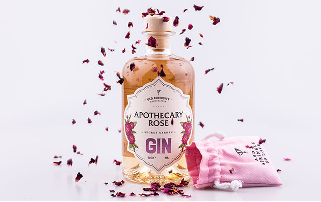 Romantic Color-Changing Gins
