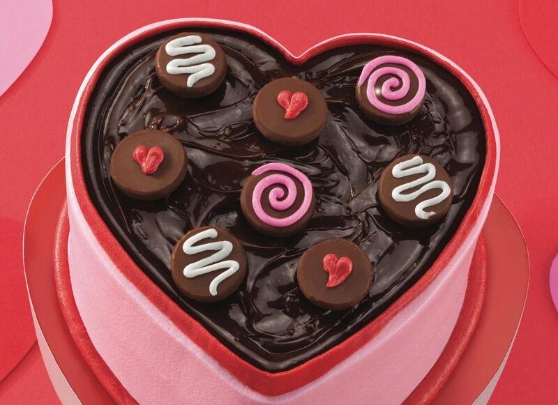 Valentine's Ice Cream Cakes