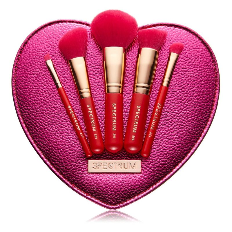 Love-Inspired Makeup Brush Sets