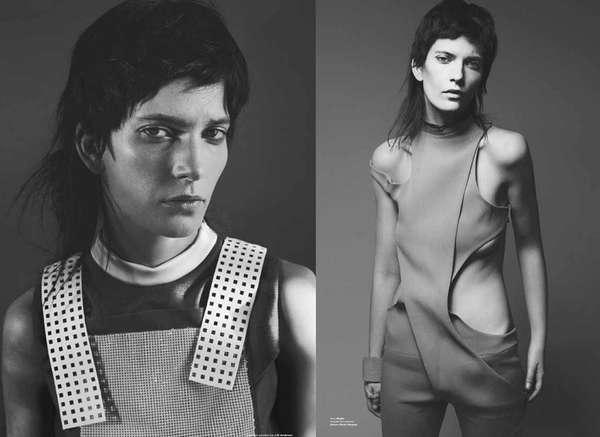 Tough Androgynous Editorials