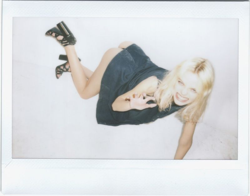 Racy Polaroid Photoshoots