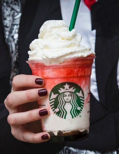 Vampire-Themed Frappuccinos