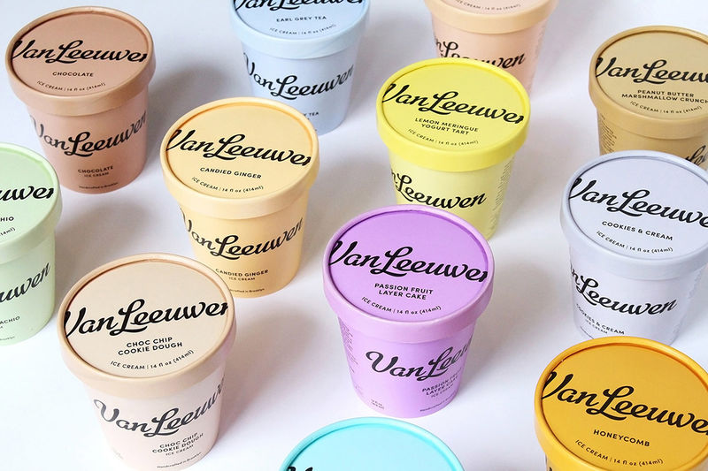 Retro-Branded Ice Creams