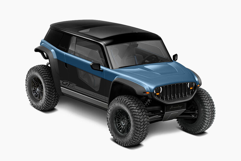 Off-Road Electric Exploration Vehicles