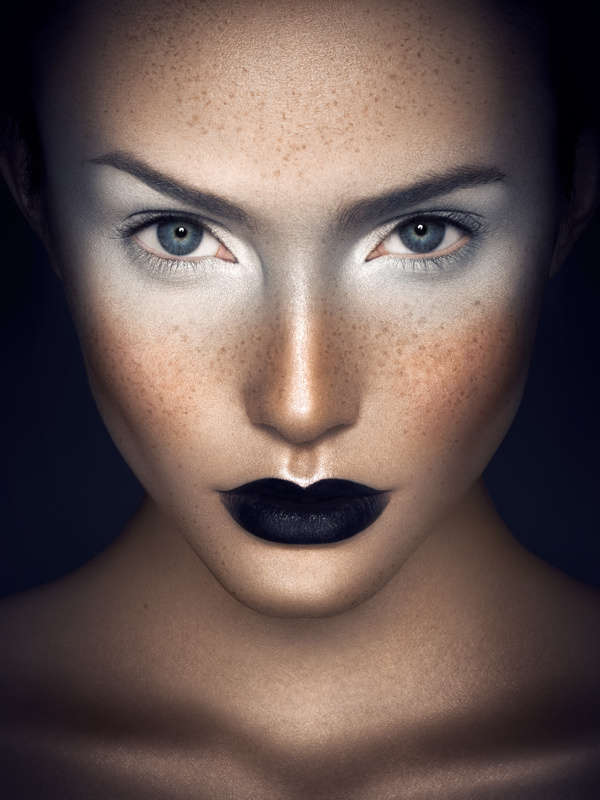 Monochromatic Makeup Portraits