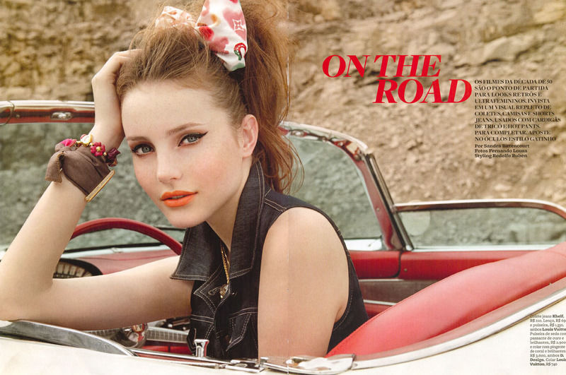 Road Trip Pin-Up Photography