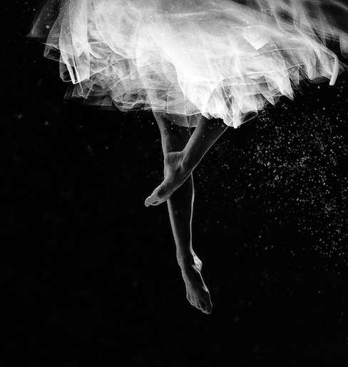 Floating Ballerina Photography