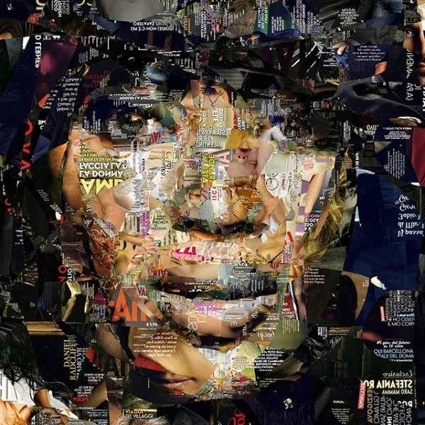 Celeb Confetti Collages