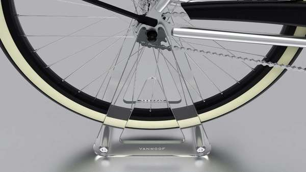 Barely There Bike Racks : Vanmoof Ghost Bicycle Stand