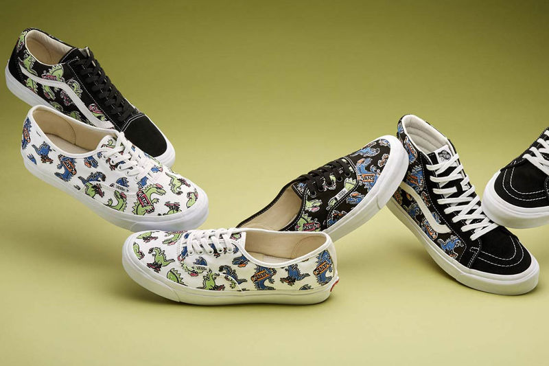 Hand-Drawn Graphic Sneakers