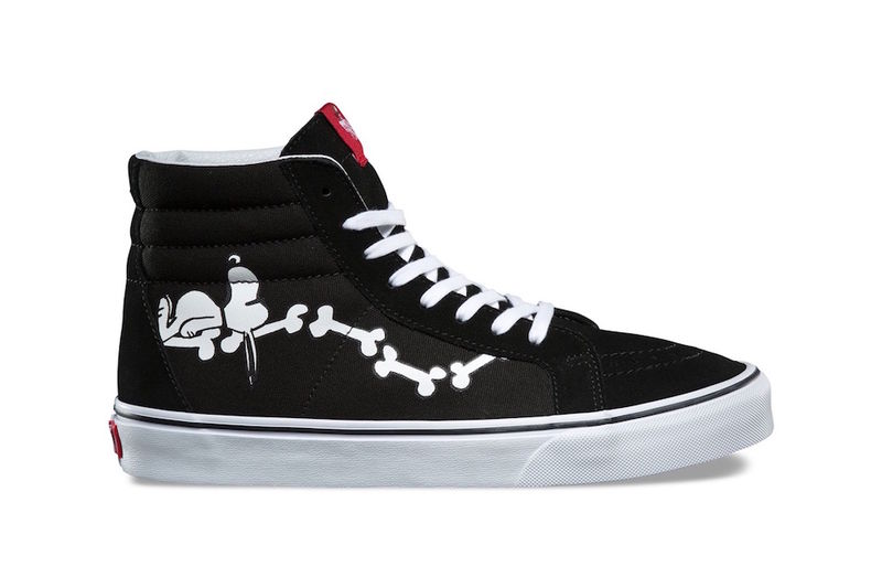 Retro Cartoon-Branded Sneakers