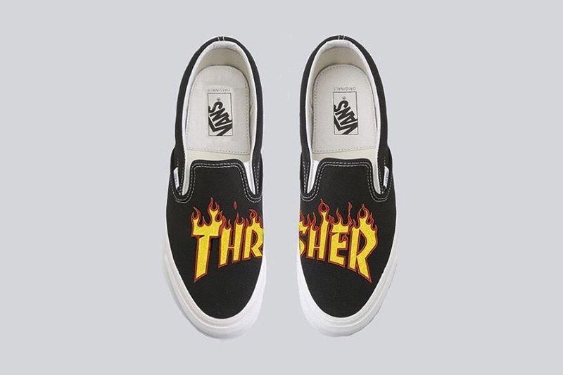 Fiery Skater Sneakers