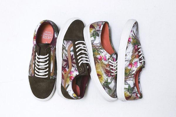 Botanically Camouflaged Sneakers