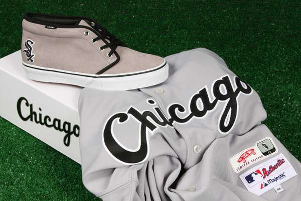 4ef823c6f1d Gray Game Sneakers   Vans MLB Washington Nationals