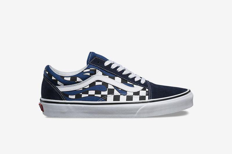 92a23164d7ec Fiery Checker-Patterned Sneakers   Vans pack