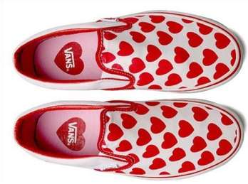 Sweetheart Speckled Sneakers Vans Valentine S Day Collection