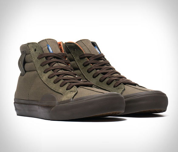 Earthy Military Inspired Sneakers