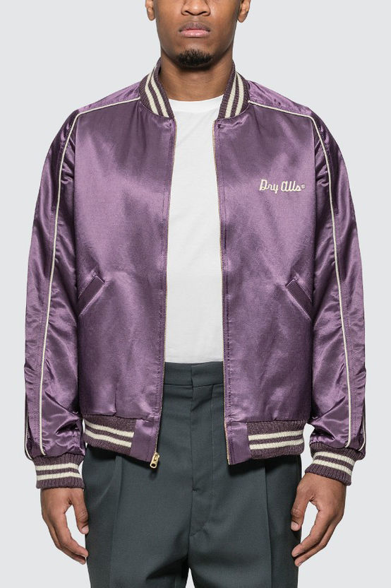 Chic Varsity Satin Jackets